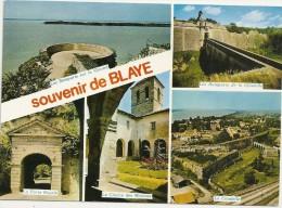 "-- TRES JOLIE MULTIVUES "" SOUVENIR DE BLAYE "" .. NON ECRITE -- - Blaye"