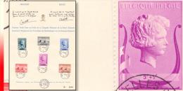 Belgium 0532/37(o) Chapelle Musicale Reine Elisabeth 1-5-40 - ....-1951