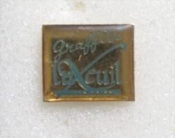Pin´s   LUXEUIL Graffiti - Pin's