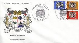 Nr 513/515 FDC (07158) - Bénin – Dahomey (1960-...)