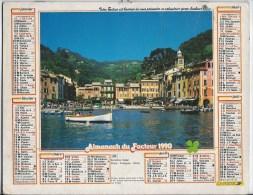 Calendrier Des Postes 1991  69 Rhone - Groot Formaat: 1991-00