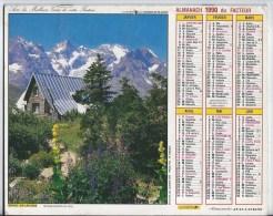 Calendrier Des Postes 1990  69 Rhone - Groot Formaat: 1991-00