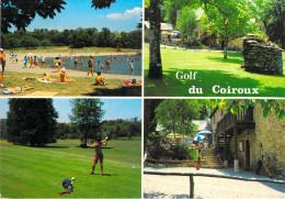 19 Corrèze AUBAZINE Golf Du Coiroux (multi Vues) (GOLF Sport)(flamme Postale AUBAZINE)   *PRIX FIXE - France