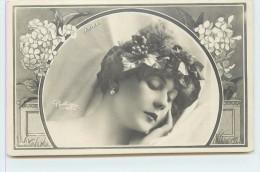 ZARINA - Portrait ,présentation Style Art Nouveau,(Photographe Reutlinger). - Théâtre