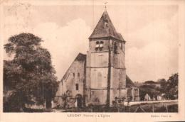 89 LEUGNY L'EGLISE CIRCULEE 1933 - Sonstige Gemeinden