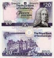 SCOTLAND - RBS       20 Pounds     P-354d       20.12.2007       UNC - Scozia