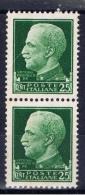 I+ Italien 1929 Mi 304 Mlh Viktor Emanuel II. - 1900-44 Victor Emmanuel III