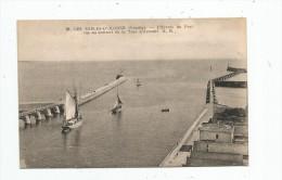 Cp , 85 , LES SABLES D´OLONNE , L´entrée Du Port Vue Du Sommet De La Tour D´ARUNDEL , Bateaux , Voiliers , écrite - Sables D'Olonne
