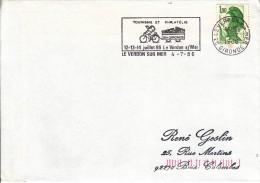 Frankrijk, Tourisme Et Philatelie En Gironde, Le Verdon Sur Mer, 12/7/1986 (07232) - Ciclismo