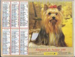 Calendrier Des Postes 1995  69 Rhone - Big : 1991-00