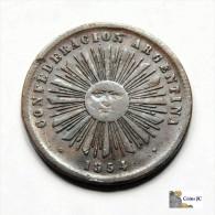 Argentina - Confederacion - 2 Centavos - 1854 - Argentinië