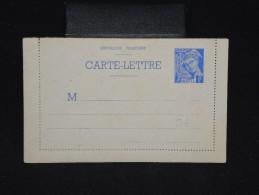 FRANCE - Entier Postal Type Mercure Non Voyagé - à Voir - Lot P9621 - Entiers Postaux