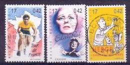 Belgie - 1999 - OBP - 2870/71+2876 - 20e Eeuw  - Gestempeld - Used Stamps