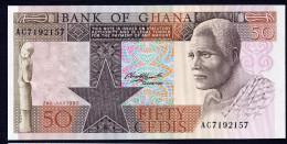 GHANA : Banconota  50 Cedis - 1980 - P22 - FDS - Ghana