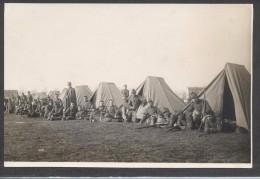 7443-GRUPPO ACCAMPAMENTO MILITARI-FOTO - Krieg, Militär