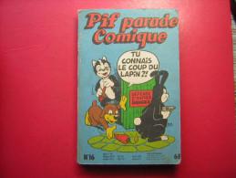 PIF PARADE COMIQUE N° 16   TU CONNAIS LE COUP DU LAPIN ? !  1980 - Pif & Hercule