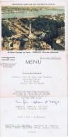 MENU Compagnie Maritime Des Chargeurs Reunis ( Bordeaux Place Des Quinconces) - Menus