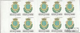 Andorra - Französische Post MH0-10 (kompl.Ausg.) Postfrisch 2000 Freimarken: Wappen - Carnets