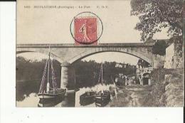 MOULEYDIER  24    Le Pont  Et Les Bateaux-Voiliers - Andere Gemeenten
