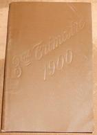 Agenda Périodique Gonnon 1900 Troisième Trimestre - Calendriers