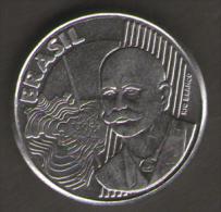 BRASILE 50 CENTAVOS 2002 - Brasile