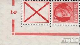 Bayern S25A Mit Walzennummer Postfrisch 1917 Ludwig III. - Bayern