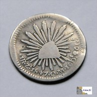México - Zacatecas - 1 Real - 1847 - Mexiko