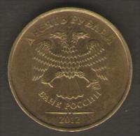 RUSSIA 10 RUBLI 2012 - Russie