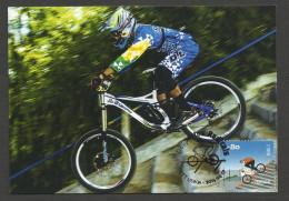 Portugal Sports Extrêmes BMX Bicycle Carte Maximum 2015 Extreme Sports Maxicard