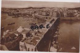 Carte Type Photo,algerie,alger En 1929,afrique Du Nord,vue Aerienne Magnifique,port,pont,toit
