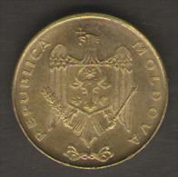 MOLDAVIA 50 BANI 2008 - Moldavia