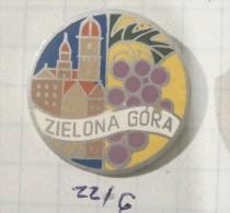 ZIELONA GORA (Poland Pologne Polen / Coat Of Arms, Blazon Armoiries Blason Emblème Ecusson Shield Bouclie HIRALDIC - Cities
