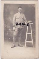 CARTE PHOTO,MILITAIRE,MILITARIA,29,FINISTERE,SOLDAT DE LANDERNEAU,1 ERE GUERRE - Landerneau