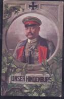 Germany1915:WW I Hindenburg Card - Prima Guerra Mondiale
