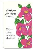 HOTEL KUSTOM   Llave Clef Key Keycard Karte Hotelkarte - Hotel Labels