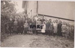 CARTE PHOTO,83,VAR,TOULON,ENFANT,PROFESSEUR,CLASSE,FILLE ET GARCON,ECOLE - Toulon