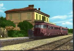 28 # Ferrera Erbognone(Pavia) Stazione Ferroviaria-non Viaggiata,come Da Foto - Pavia
