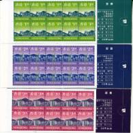 HONGKONG  1997  3 X BOOKLETS - 1997-... Région Administrative Chinoise