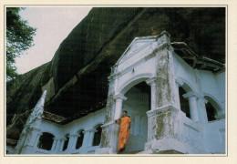 DAMBULLA:   LE  GROTTA  BUDDHISTE            (NUOVA CON DESCRIZIONE DEL SITO SUL RETRO) - Sri Lanka (Ceylon)