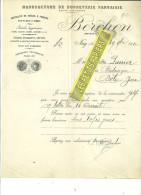 64 - Pyrennées-atlantiques - NAY - Facture BERCHON - Manufacture De Bonneterie – 1912 - REF 201 - France