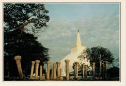 ANURADHAPURA:  DAGOBA  RUVANVELISAYA             (NUOVA CON DESCRIZIONE DEL SITO SUL RETRO) - Sri Lanka (Ceylon)