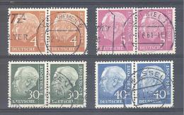 Michel # 178/178 : 260/260   Pärchen Hohe Katalogwert - Used Stamps