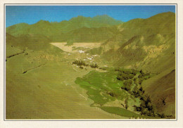 INDIA-LADAKH:  IL  MONASTERO  DI  LAMAYURU             (NUOVA CON DESCRIZIONE DEL SITO SUL RETRO) - India