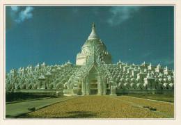 BIRMANIA-MANDALAY.  LA PAGODA  HSINBYUME         (NUOVA CON DESCRIZIONE DEL SITO SUL RETRO) - Myanmar (Burma)
