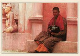 BIRMANIA-RANGOON:  MONACO  ALLO  SHWEDAGON         (NUOVA CON DESCRIZIONE DEL SITO SUL RETRO) - Myanmar (Burma)