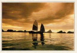 ISOLA  DI PHUKET:   BAIA  DI  PHANG NGA        (NUOVA CON DESCRIZIONE DEL SITO SUL RETRO) - Tailandia