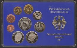 GERMANIA BUNDESREPUBLIK DEURSCHLAND 1975 D MUNCHEN PROOF SET - [ 7] 1949-… : RFA - Rep. Fed. Tedesca