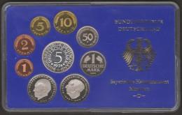 GERMANIA BUNDESREPUBLIK DEURSCHLAND 1974 D MUNCHEN PROOF SET - [ 7] 1949-… : RFA - Rep. Fed. Tedesca