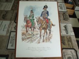 Uniformes ) Fanfaro/ Planche N° 20  L´histoire Des Hussards Prussiens 1721/1807 De Kurt Geiss Et August-wilhelm Stragand - Uniformes