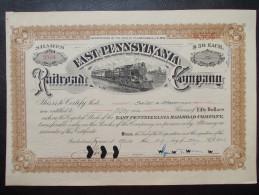 USA - East Pennsylvania Rail Road Company - Chemin De Fer & Tramway